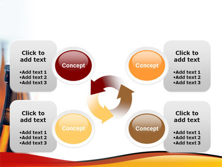 Bottles of Beer PowerPoint Template Slide 9