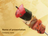 Food & Beverage: Barbeque PowerPoint Template #01794