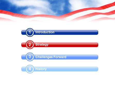 National Memorial PowerPoint Template, Slide 3, 01796, Flags/International — PoweredTemplate.com
