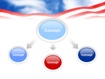 National Memorial PowerPoint Template, Slide 4, 01796, Flags/International — PoweredTemplate.com