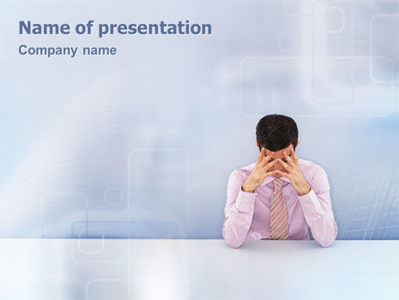 Male Health PowerPoint Template, 01799, Consulting — PoweredTemplate.com
