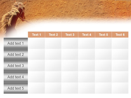 Rodeo PowerPoint Template Slide 15