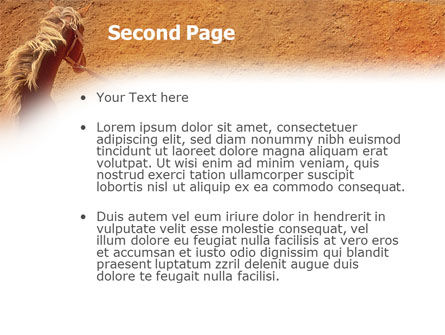 Rodeo PowerPoint Template Slide 2