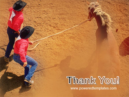 Rodeo PowerPoint Template Slide 20