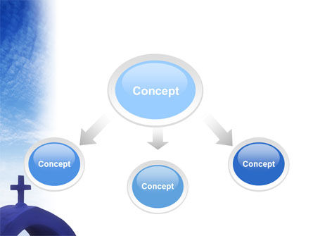 Blue Cross PowerPoint Template Slide 4