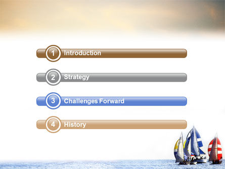 Sailing PowerPoint Template, Slide 3, 01809, Sports — PoweredTemplate.com