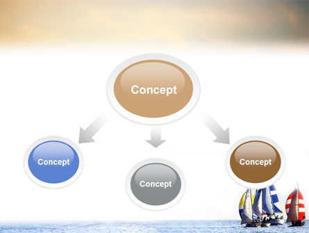 Sailing PowerPoint Template, Slide 4, 01809, Sports — PoweredTemplate.com