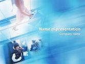 Business: Modern Business Communication Rhythm PowerPoint Template #01810
