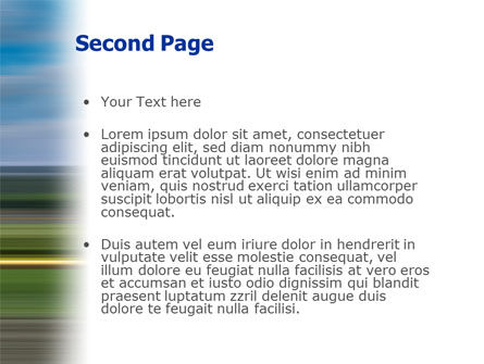 Horse Races PowerPoint Template, Slide 2, 01813, Sports — PoweredTemplate.com