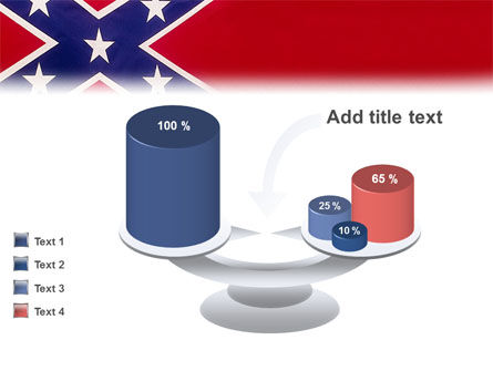 The Battle Flag of the Confederacy PowerPoint Template Slide 10