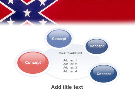 The Battle Flag of the Confederacy PowerPoint Template Slide 16