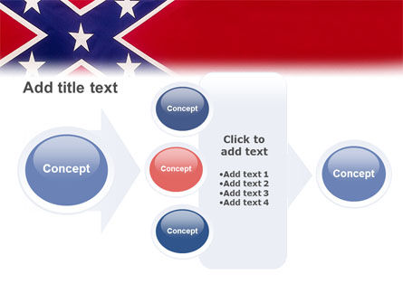 The Battle Flag of the Confederacy PowerPoint Template Slide 17