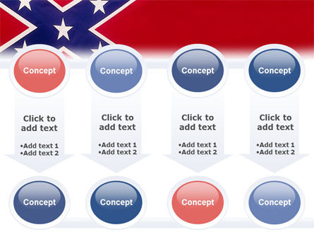 The Battle Flag of the Confederacy PowerPoint Template Slide 18