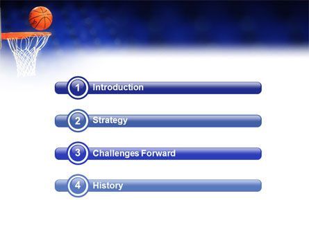 Basketball Match PowerPoint Template, Slide 3, 01816, Sports — PoweredTemplate.com