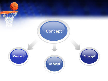 Basketball Match PowerPoint Template, Slide 4, 01816, Sports — PoweredTemplate.com