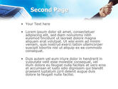 Business Meeting Outdoor PowerPoint Template#2