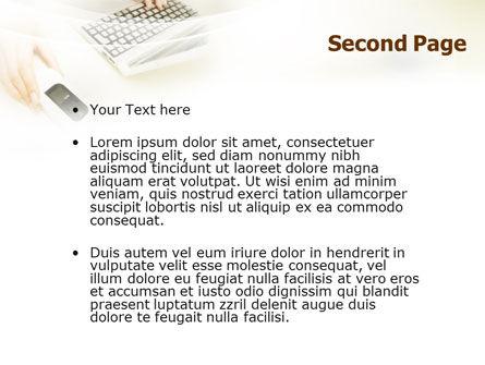 Computer Gadget PowerPoint Template, Slide 2, 01821, Computers — PoweredTemplate.com