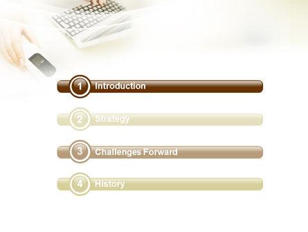 Computer Gadget PowerPoint Template, Slide 3, 01821, Computers — PoweredTemplate.com