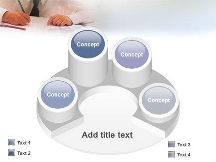 Schoolboy PowerPoint Template Slide 12