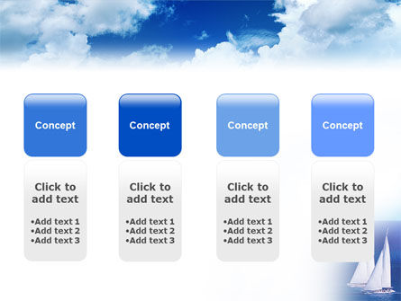 Sea Horizon PowerPoint Template Slide 5