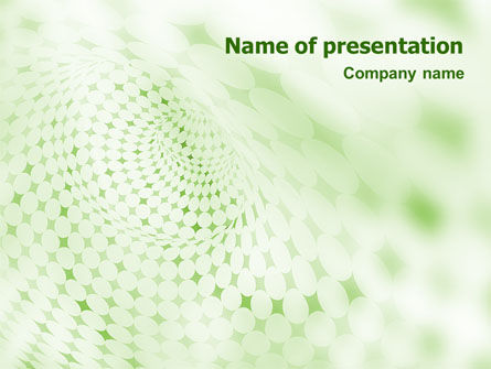 Green Texture PowerPoint Template, 01827, Abstract/Textures — PoweredTemplate.com