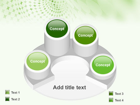 Green Texture PowerPoint Template Slide 12