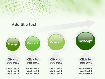 Green Texture PowerPoint Template Slide 13