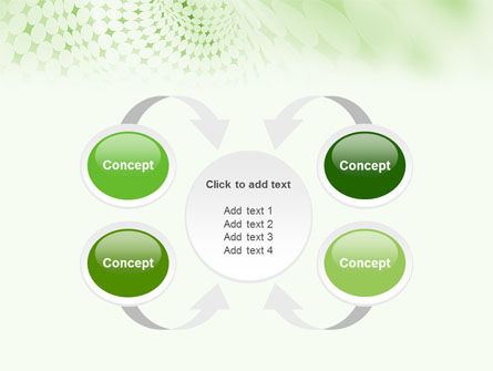 Green Texture PowerPoint Template Slide 6