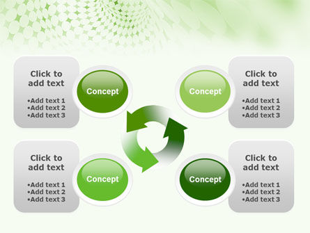 Green Texture PowerPoint Template Slide 9