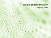 Abstract/Textures: Green Texture PowerPoint Template #01827