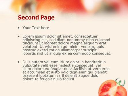 Tomato PowerPoint Template Slide 2