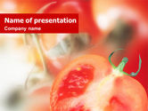 Agriculture: Tomato PowerPoint Template #01830