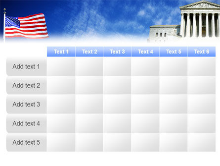 Supreme Court PowerPoint Template Slide 15