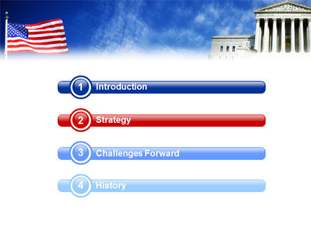 Supreme Court PowerPoint Template, Slide 3, 01831, America — PoweredTemplate.com