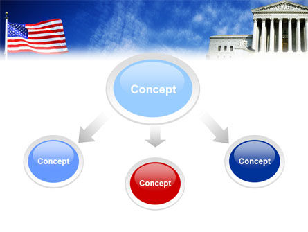 Supreme Court PowerPoint Template, Slide 4, 01831, America — PoweredTemplate.com