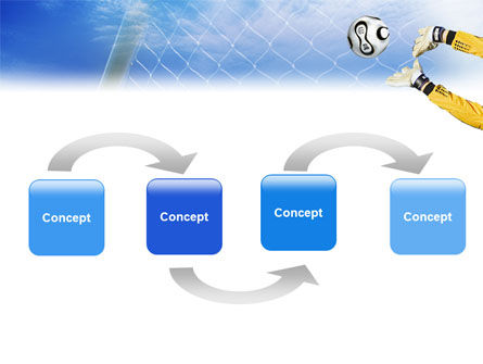 Goalkeeper PowerPoint Template Slide 4