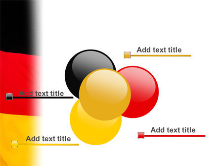 German Flag PowerPoint Template Slide 10