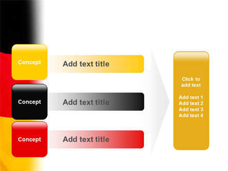 German Flag PowerPoint Template Slide 12