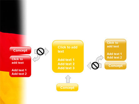 German Flag PowerPoint Template Slide 13