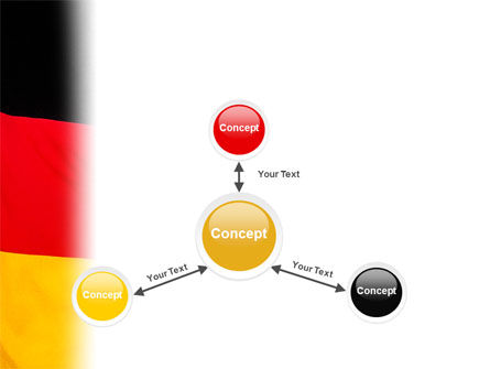 German Flag PowerPoint Template Slide 14