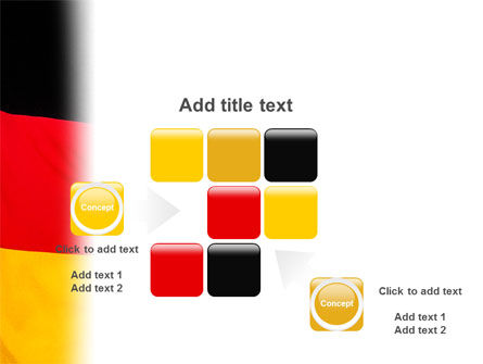 German Flag PowerPoint Template Slide 16
