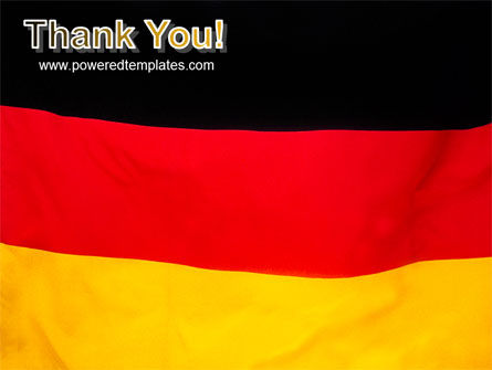 German Flag PowerPoint Template Slide 20