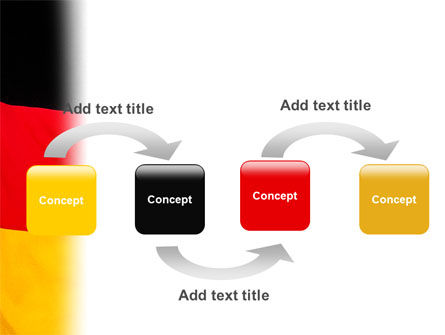 German Flag PowerPoint Template Slide 4