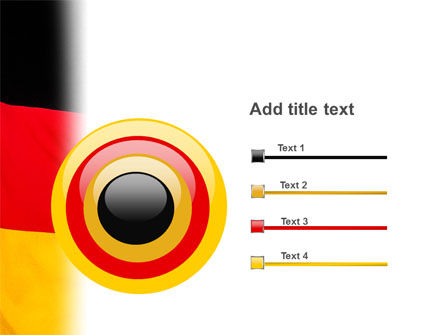 German Flag PowerPoint Template Slide 9