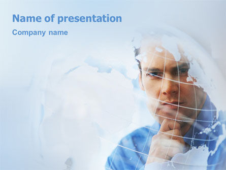Look At The World PowerPoint Template