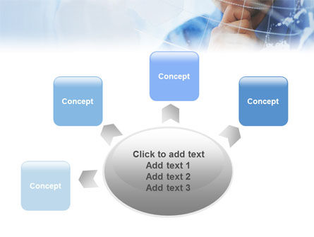 Look At The World PowerPoint Template Slide 7
