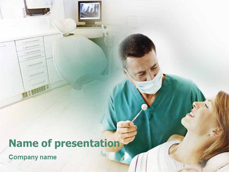 Dental Help PowerPoint Template, 01840, Medical — PoweredTemplate.com