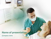 Medical: Dental Help PowerPoint Template #01840