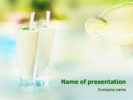Food & Beverage: Cocktail PowerPoint Template #01843