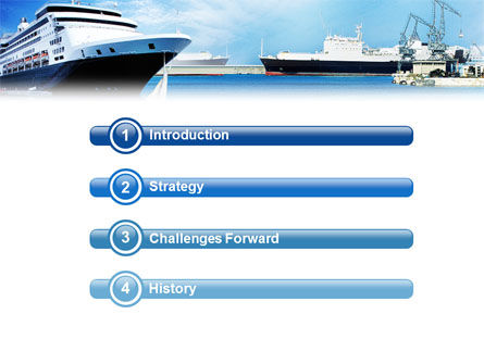 Liner PowerPoint Template Slide 3